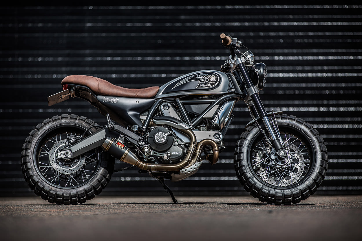 Down & Out Cafe Racers Ducati Scrambler | CustomBIKE.cc