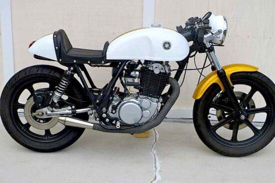 LOSSA 1978 Yamaha SR500 | CustomBike
