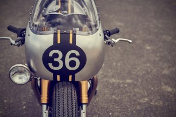 Triumph Thruxton R | Barbour International | CustomBIKE.cc