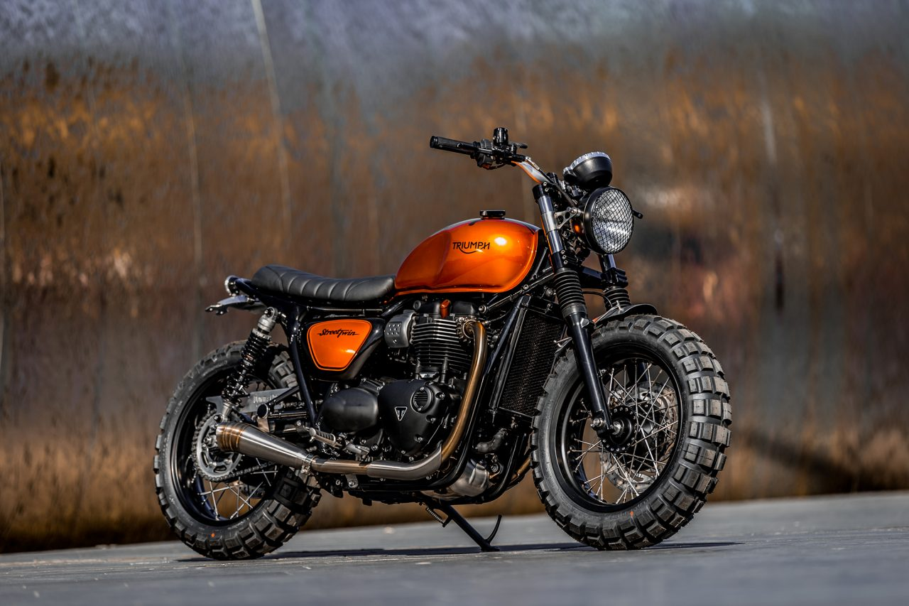 Down & Out Café Racers, Triumph Street Twin | CustomBIKE.cc
