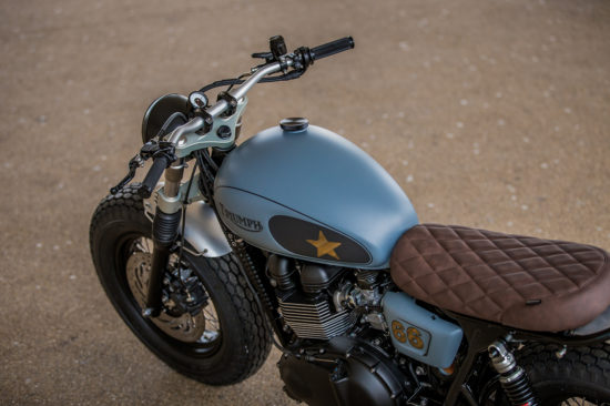 Down & Out Café Racers, Triumph | CustomBIKE.cc