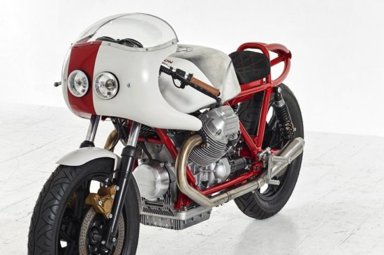 1981 MOTO GUZZI LEMANS MK2 'Airtail' by Death Machines of London