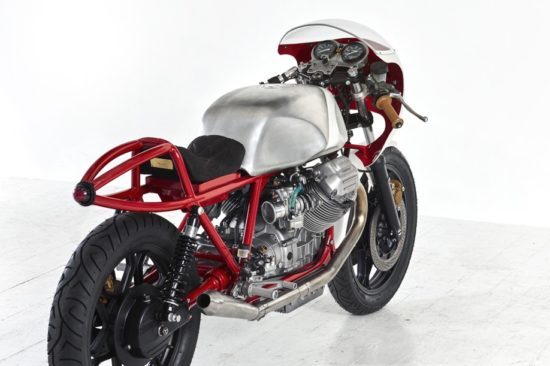 1981 MOTO GUZZI LEMANS MK2 'Airtail' by Death Machines of London rear