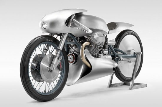 1982 Moto Guzzi LeMans Mk2 'Airforce' - By Death Machines of London