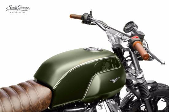 South Garage Moto Guzzi   CustomBike.cc