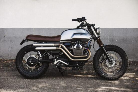BAAK MOTOCYCLETTES Moto Guzzi V7 Scrambler   CustomBike.cc