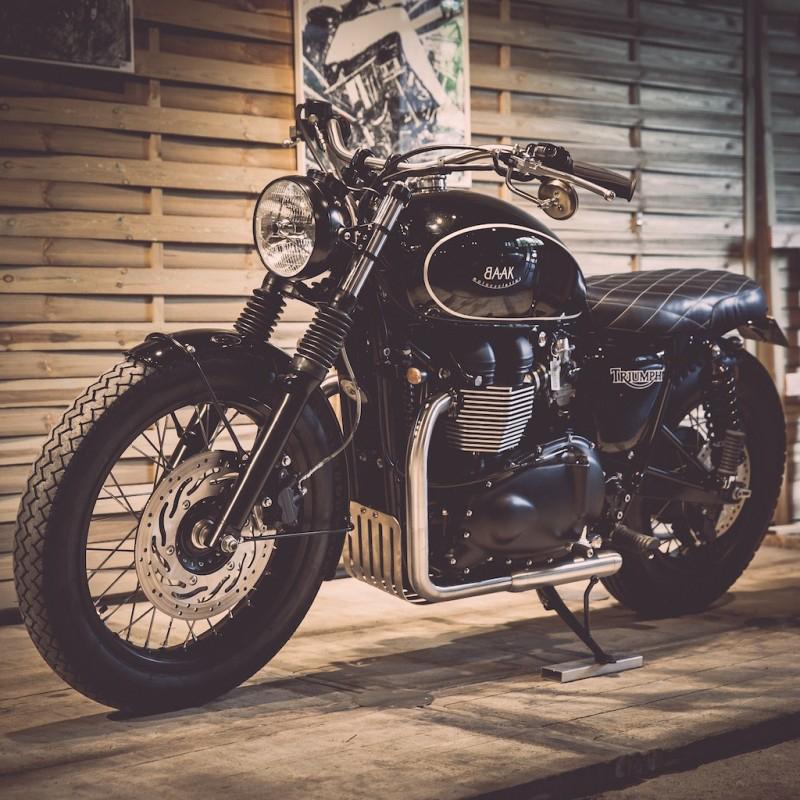 BAAK MOTOCYCLETTES Triumph Dandy Bonnie   CustomBike.cc