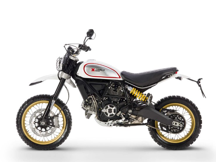 Ducati Scrambler Desert Sled [left] | CustomBike.cc