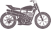 Custom Flat Trackers & Street Trackers | CustomBike.cc