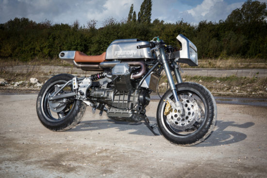 Foundry Motorcycles 1998-Moto-Guzzi-1100i-Sport |CustomBike.cc