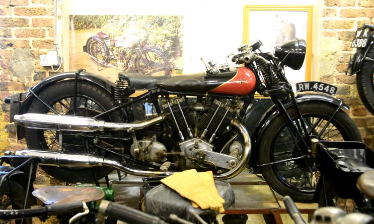 London Motorcycle Museum   CustomBike.cc