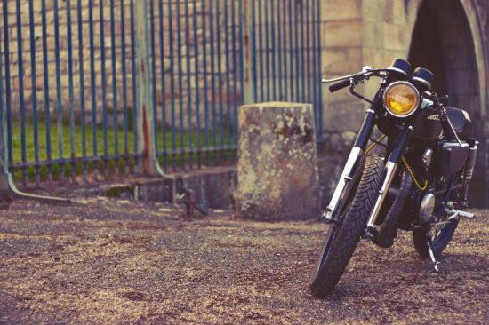Dauphine Lamarck Honda CB125K5 | CustomBike.cc