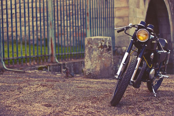 Dauphine Lamarck Honda CB125K5   CustomBike.cc