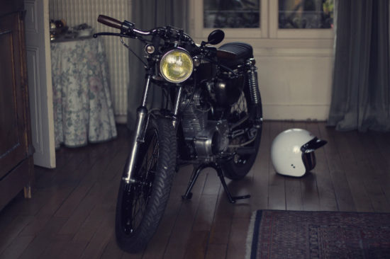 Dauphine Lamarck Honda CB125S | CustomBike.cc
