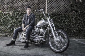 Ewan McGregor Panhead Chopper