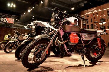 Custom Moto Guzzi Motorcycles
