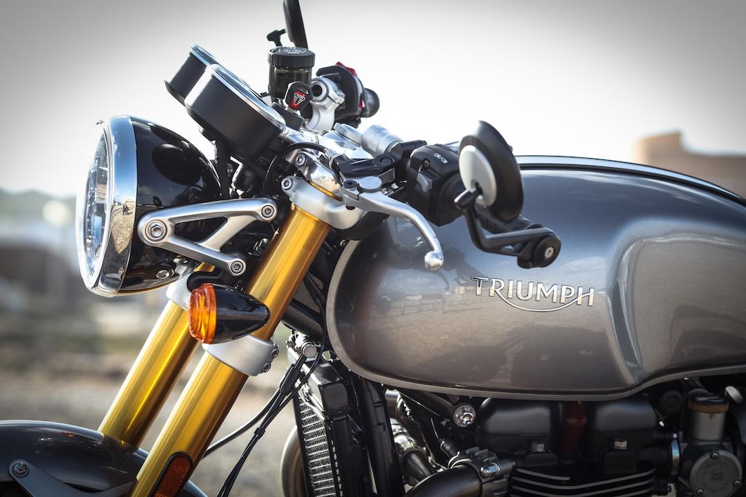 Triumph Thruxton 1200 R Fuel Tank