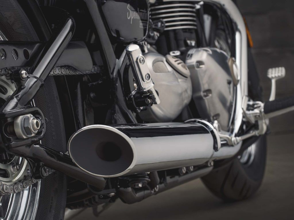 Bonneville Speedmaster 2018 Exhaust Cans