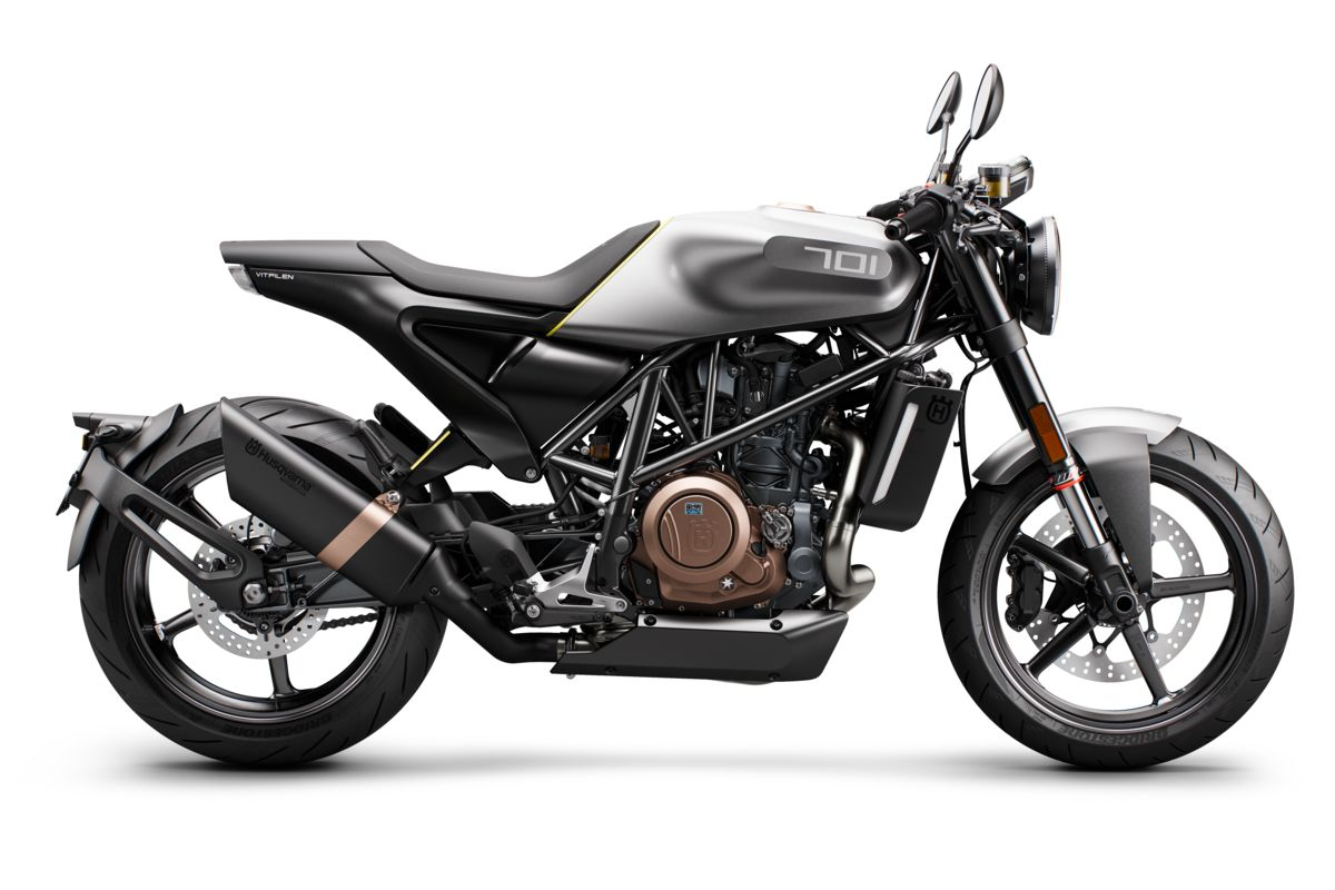 Husqvarna Vitpilen 701 Production Model 2018 Right-side