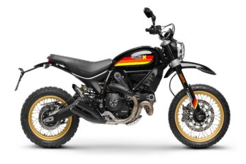 DUCATI SCRAMBLER DESERT SLED Black Edition Right Side Detail