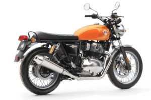 Royal Enfield Interceptor 650 Orange