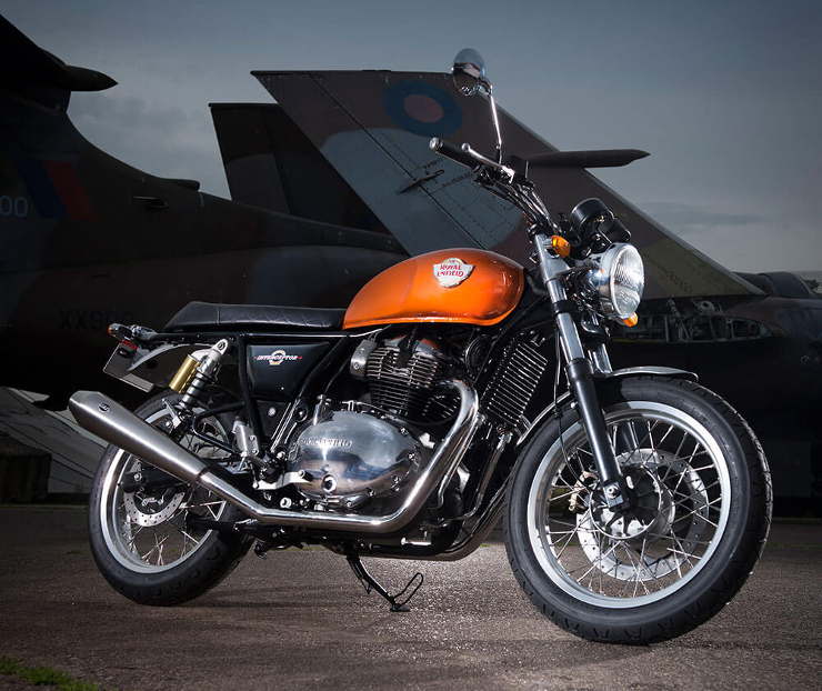 Royal Enfield Interceptor 650 - Orange