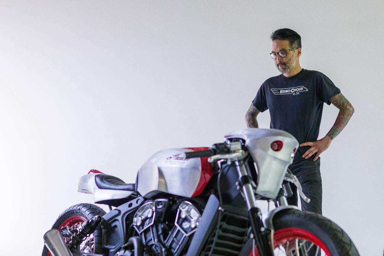 Keino Sasaki of Keino Cycles