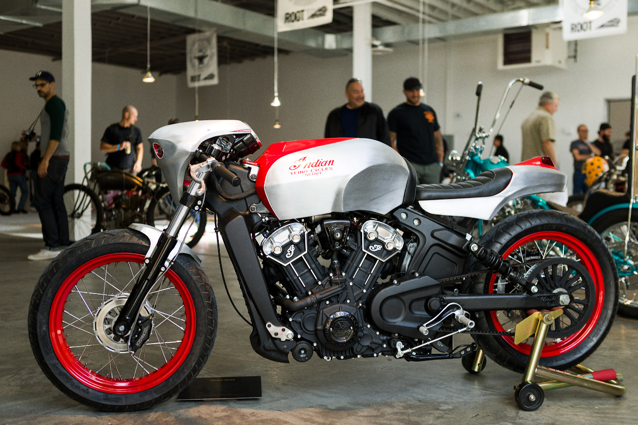 Scout Bobber Custom Keino Cycles