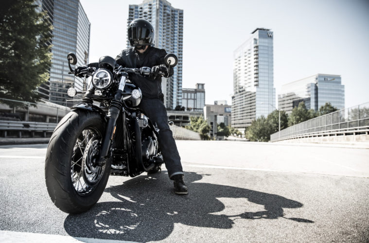 2018 Triumph Bobber Black Rider