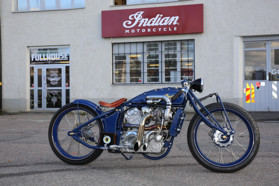 Indian Scout Custom 'Super Scout'