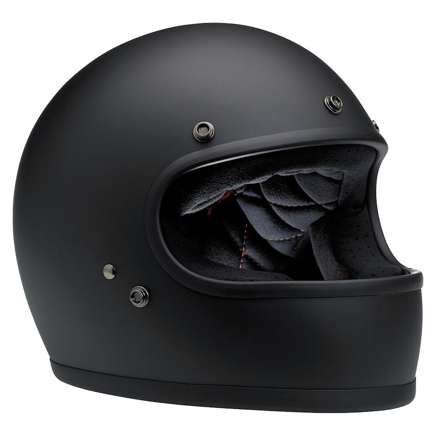 New Biltwell Gringo Helmet ECE Approved Matt Black