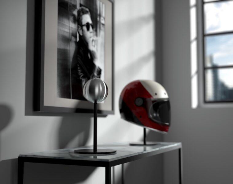 Halley Accessories Motorcycle Helmet Stand