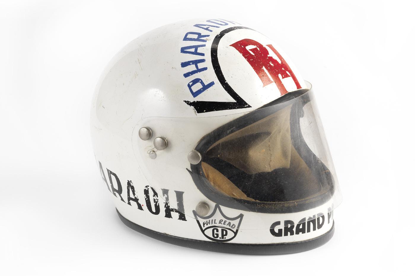 RON HASLAM RACE HELMET BY KANGOL HELMETS LTD SCOTLAND