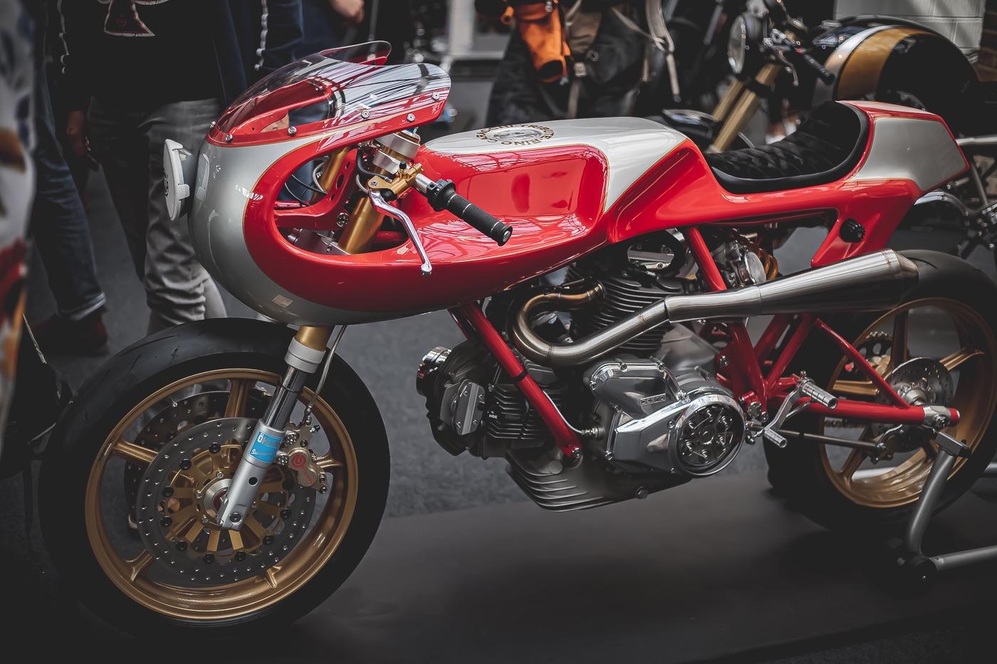 Minimalist Ducati L-Twin Custom Bike Build