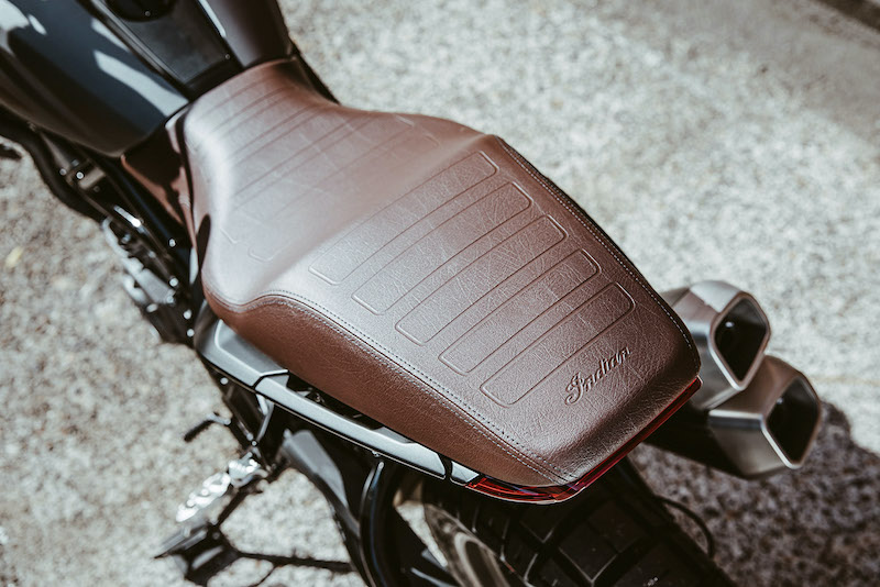 Indian Motorcycle FTR Rally Brown Retro Seat