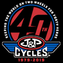 J & P Cycles Button