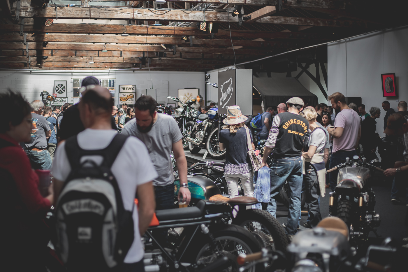 The Bike Shed Show 2019 People