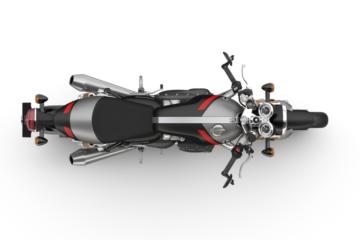 Triumph Thruxton RS-Top---Matt Storm Grey & MattS Silver Ice