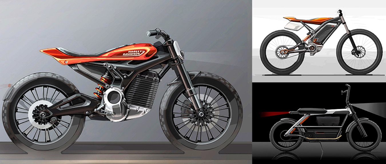 Electric Motorcycle Concept by Harley-Davidson
