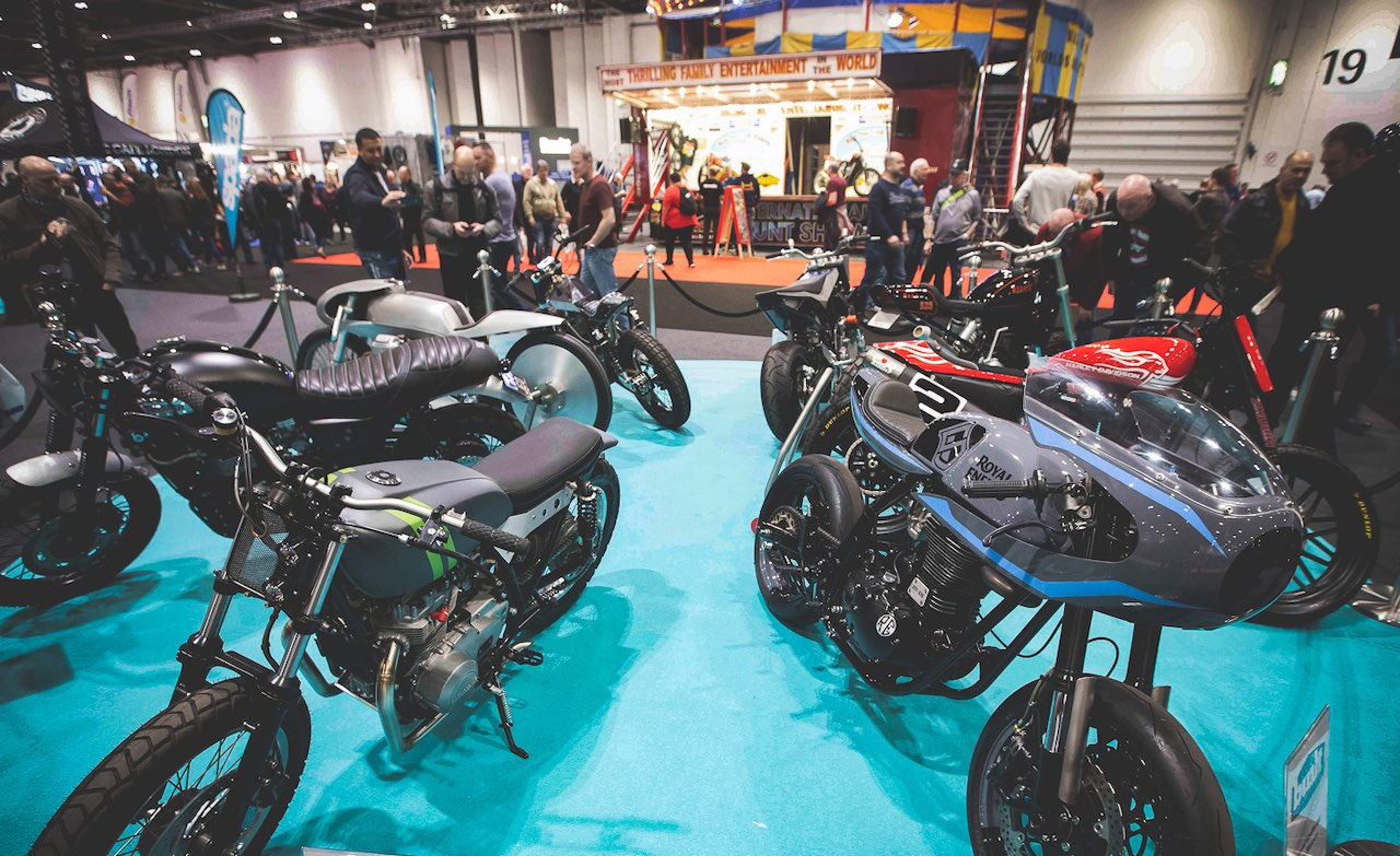 Spada Custom Zone at MCN London Motorcycle Show