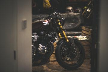 Fastec Racing Honda CB750 Cafe Racer