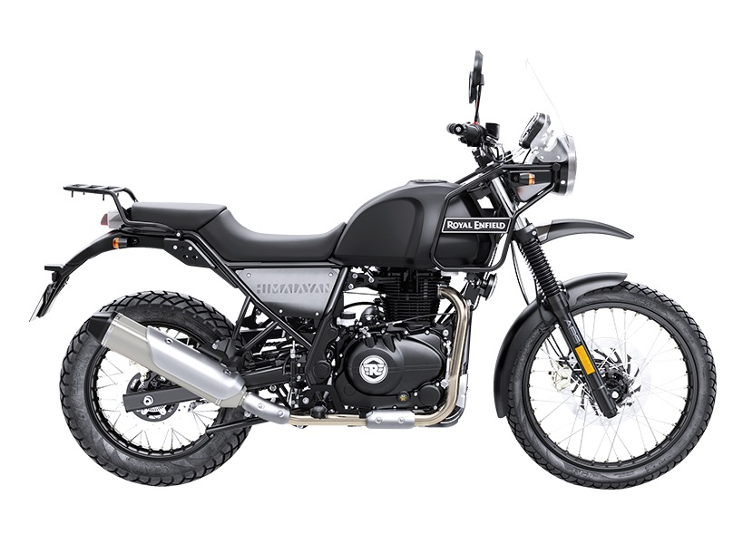 Royal Enfield Himalayan Granite left side view