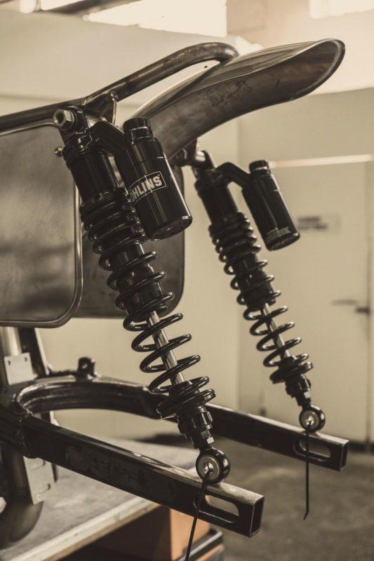 Anvil Scout Sixty Tracker rear shocks