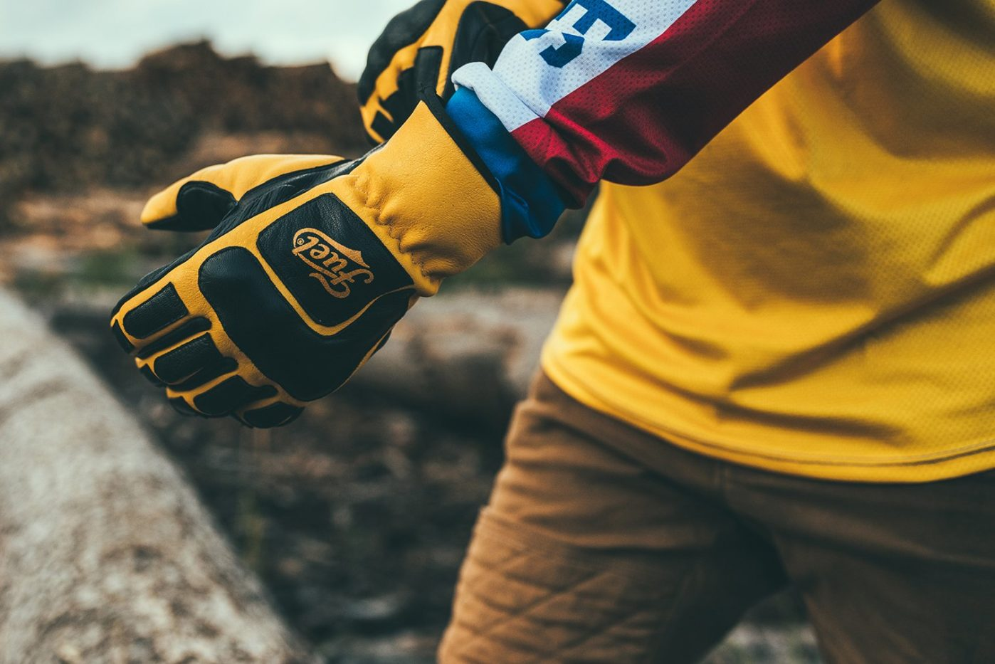 Fuel Moto X Gloves lifestyle