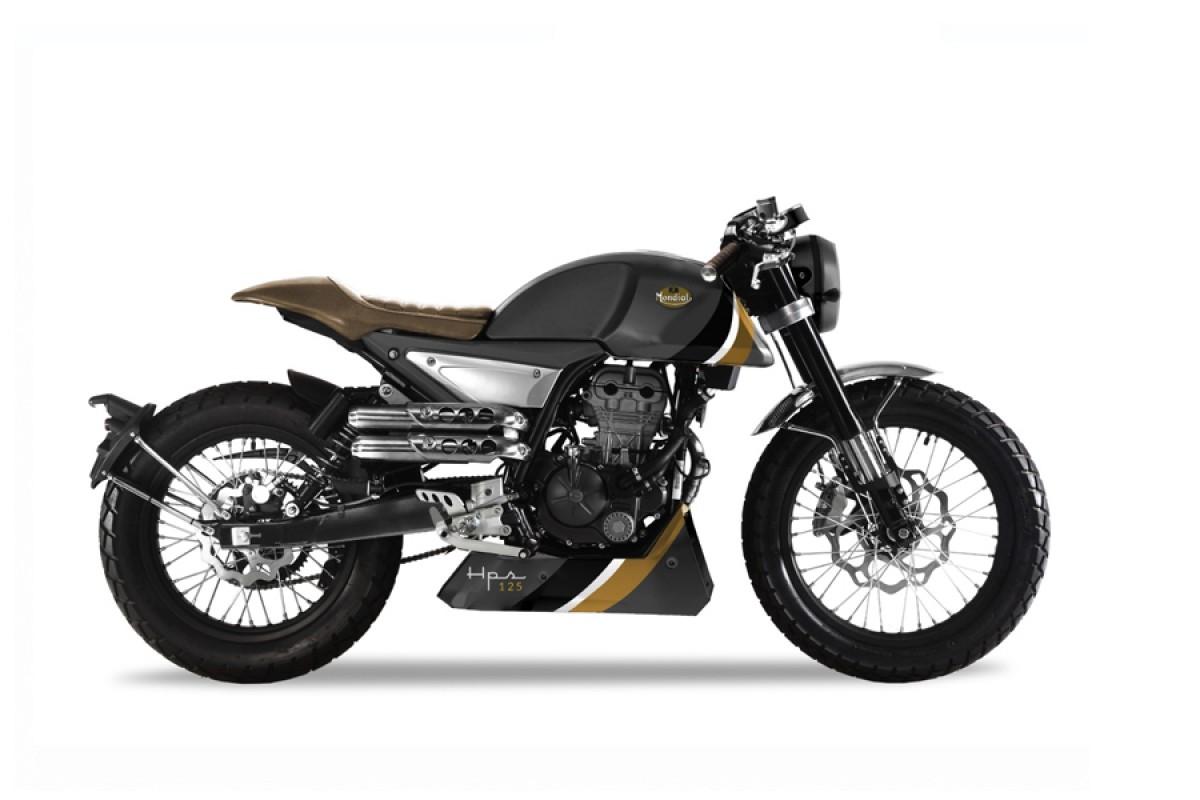 Best 125cc Café Racers - Mondial HPS 125 Titanium