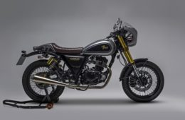 Sinnis Motorcycles 125 Cafe Racer Bomber