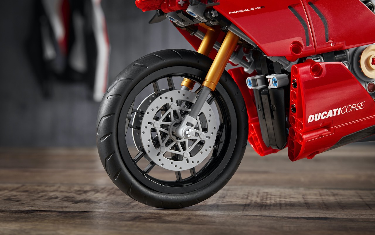 Ducati Lego Front Forks and Wheel