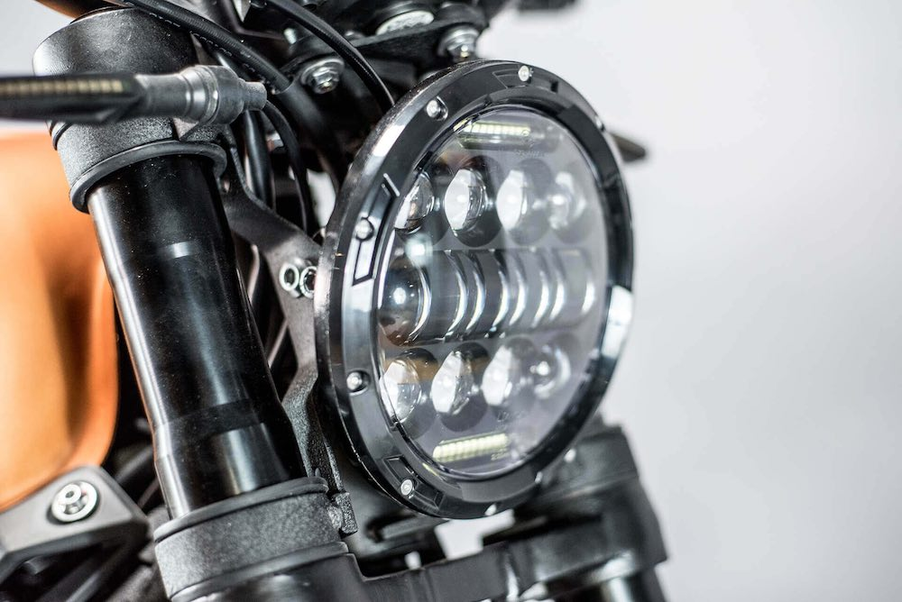 Brat 125 Headlight