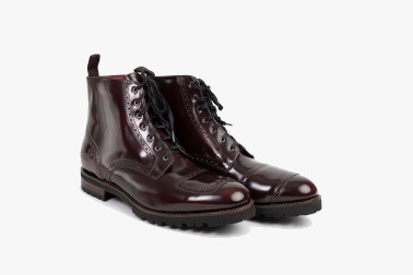Red Series BENNY BOURDEAUX Motorcycle Boot