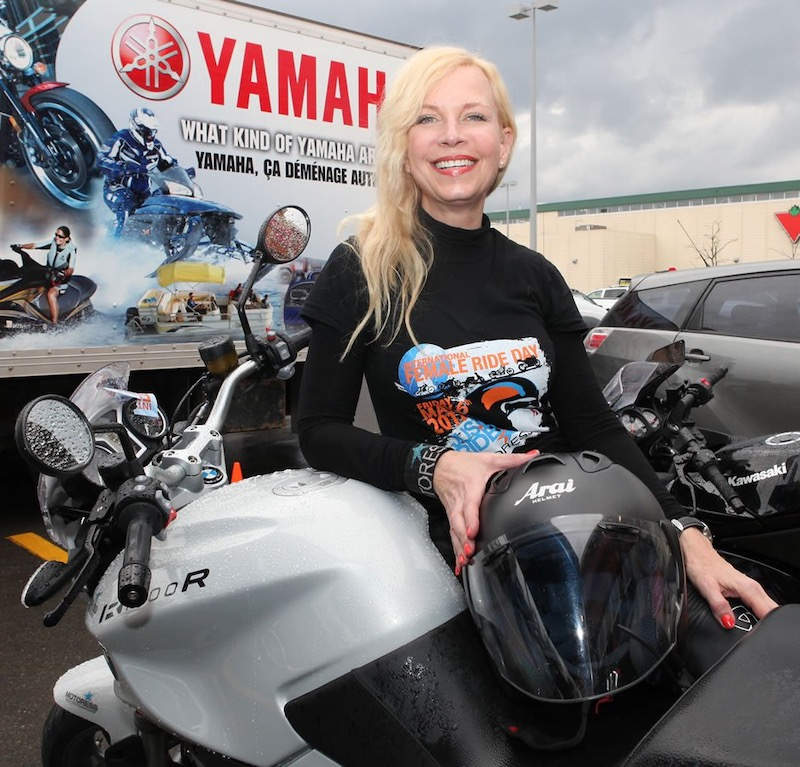 Vicky Gray, Founder - International Female Ride Day® and Motoress®